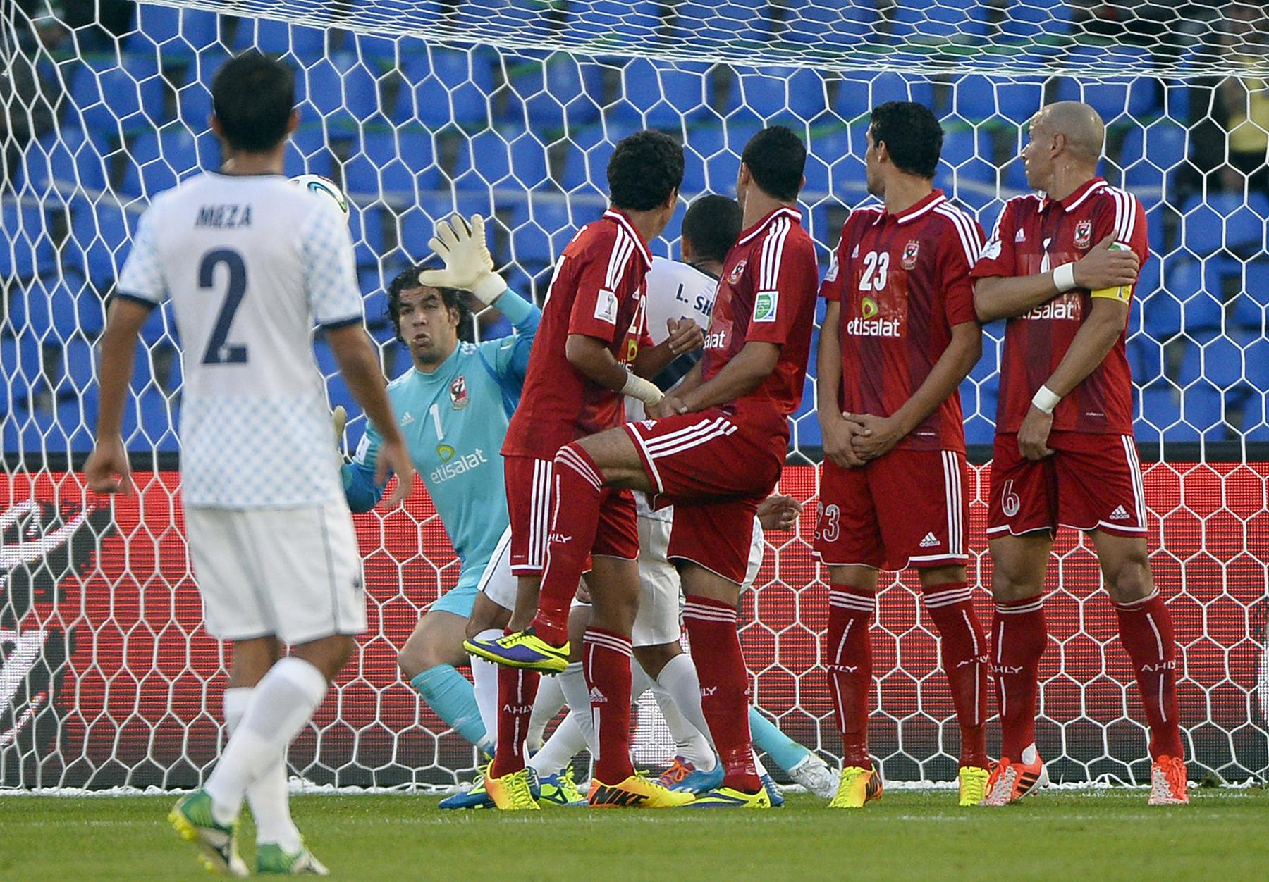 Al Ahly SC CF Monterrey Club World Cup 2013