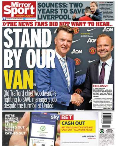 Daily Mirror 26012016