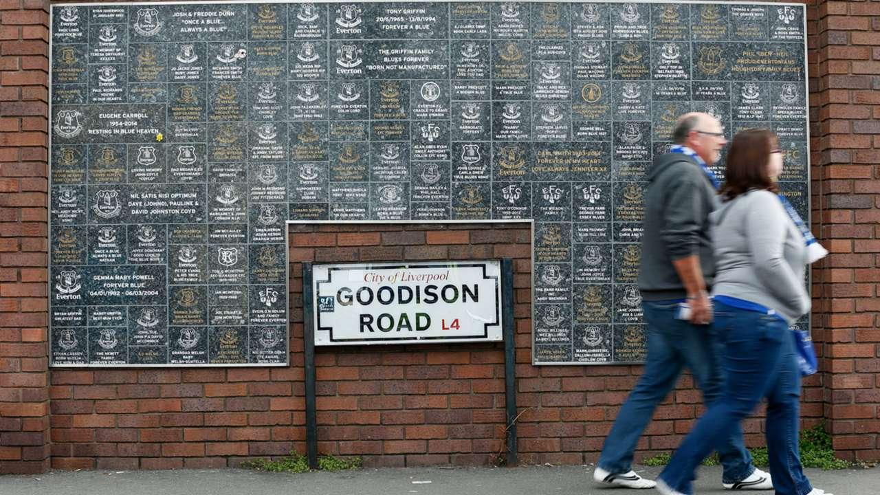 Goodison Road Everton