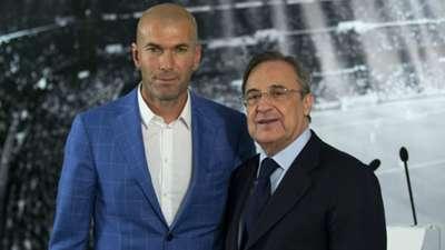 Zinedine Zidane unveiling