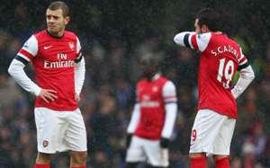 Santi Cazorla,Jack Wilshere,Arsenal