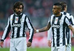 Andrea Pirlo, Arturo Vidal - Juventus
