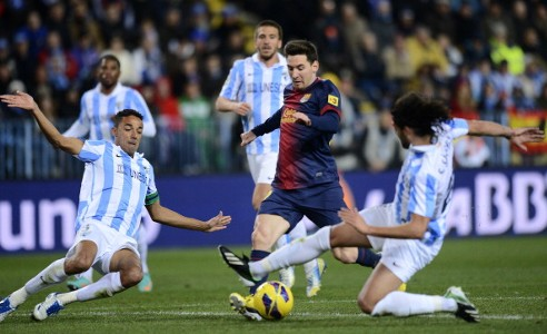 Lionel Messi - Málaga v FC Barcelona