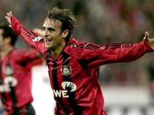 Dimitar Berbatov Bayer Leverkusen Real Madrid Champions League 09152004