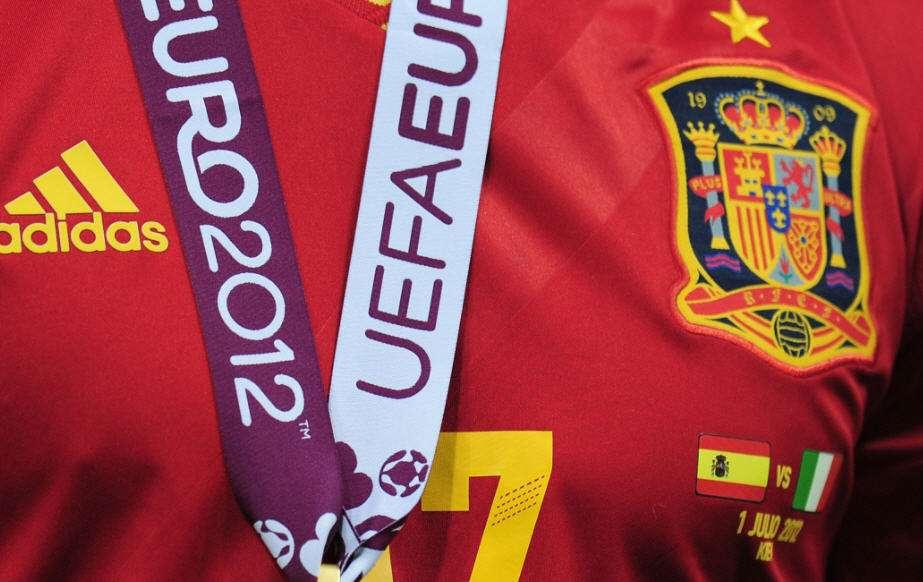 Euro 2012, Spain logo, spain flag