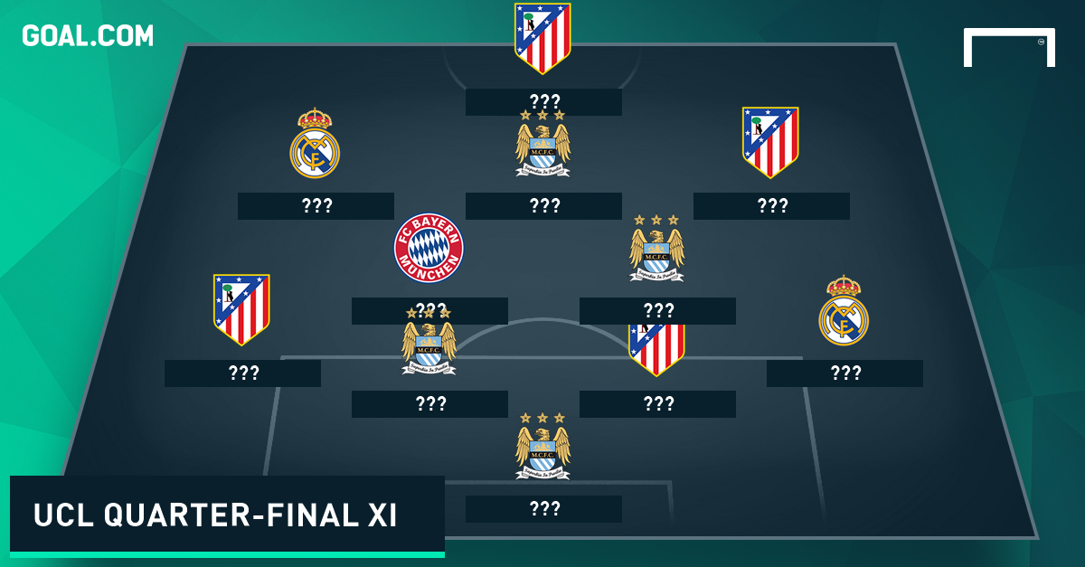 Champions League Quarter-Finals Best XI