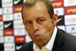 Sandro Rosell, presidente del Barcelona