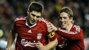 Steven Gerrard; Fernando Torres Liverpool