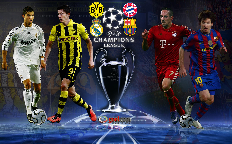 Semi-finals of the Champions League 2013 -  Barcelona Vs Bayern Munich & Borussia Dortmund Vs Real Madrid