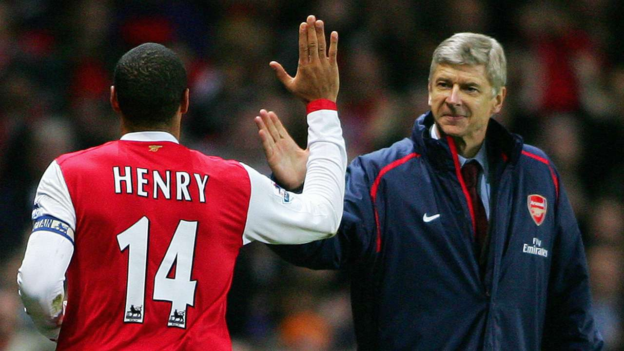 Wenger and Henry - Jan 2 2007