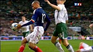 Henry's handball VS Ireland