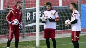David De Gea, Iker Casillas Spain