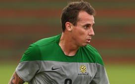 Luke Wilkshire Socceroos Australia World Cup training