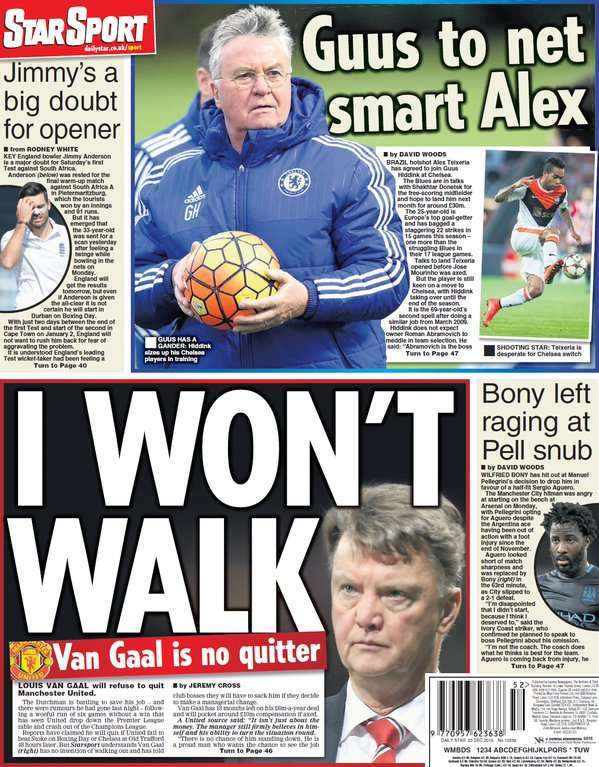 Daily Star back page 231215