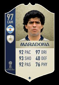 Maradona ICONS
