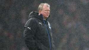 Steve McClaren Premier League Arsenal v Newcastle 010215