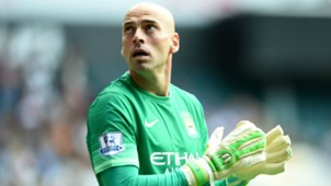 Willy Caballero Tottenham Manchester City Premier League 26092015