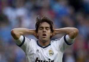 Kaka, en el Real Madrid - Valladolid
