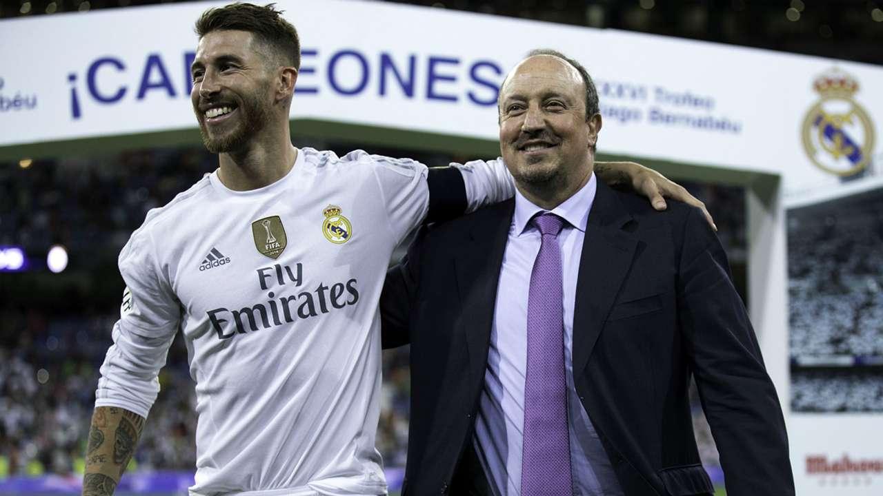 Sergio Ramos Rafael Benitez Real Madrid