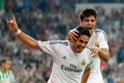 Isco, Morata, Real Madrid v Betis - Liga BBVA