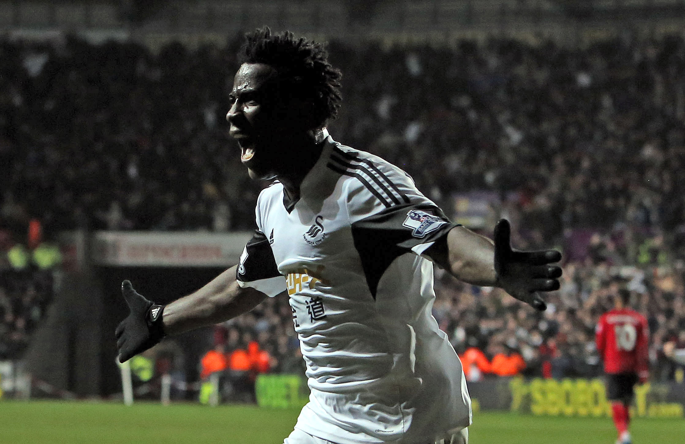 Swansea City's Bony fired up for Burnley Clash