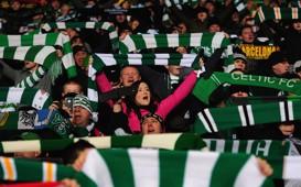 Celtic fans Celtic Park