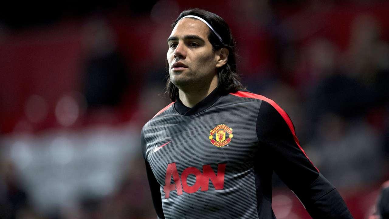 Radamel Falcao Manchester United Premier League 090315