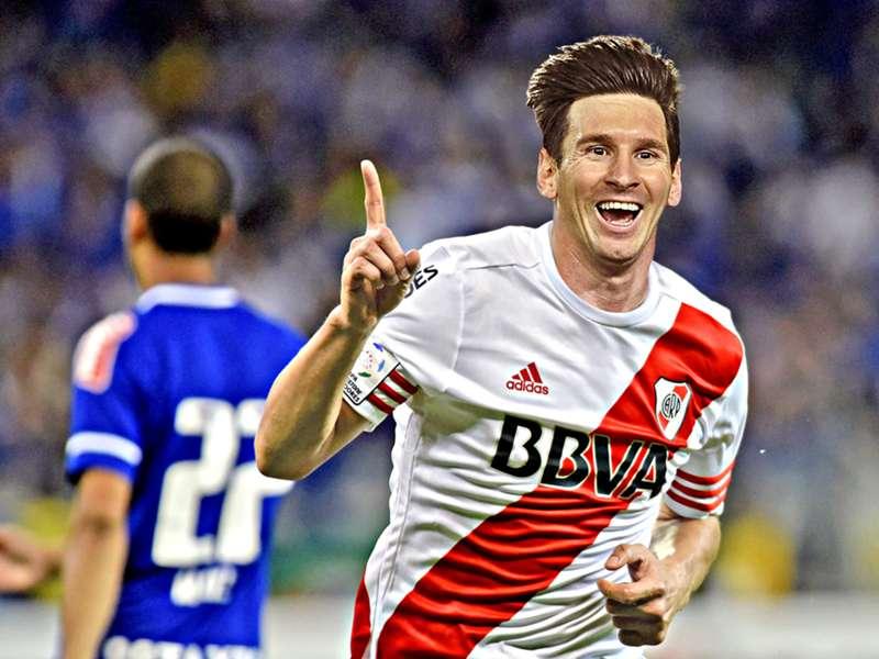 River Plate quase assinou com Lionel Messi aos 12 anos  8176508ba9de1