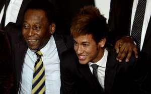 Pele and Neymar