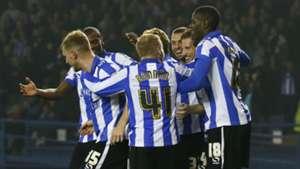 Sam Hutchinson League Cup Sheffield Wednesday v Arsenal 271015