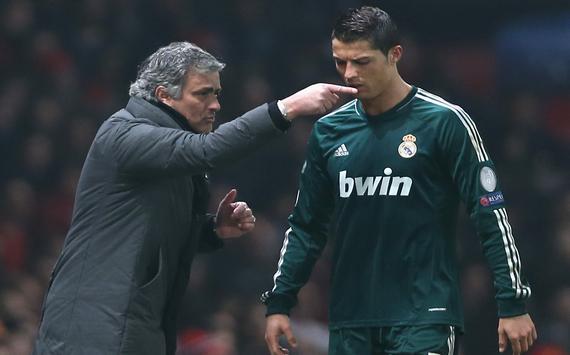 José Mourinho & Cristiano Ronaldo