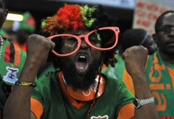 Zambia Fan - Zambia vs Burkina Faso Afcon 2013