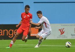 Shakir Hamzah Singapore Jordan 2015 AFC Asian Cup qualifiers 04022014