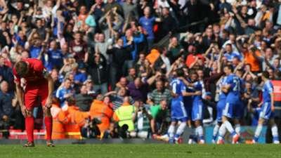 Steven Gerrard Liverpool Chelsea 27042014