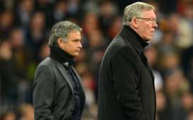 UEFA Champions League; Jose Mourinho; Sir Alex Ferguson; Real Madrid Vs Manchester United