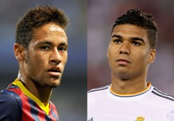 Casemiro Neymar Real Madrid Barcelona