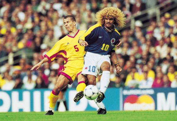 Romania Vs Colombia 1998