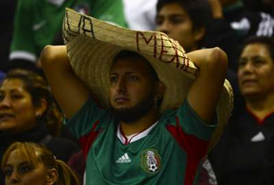 Mexico fan vs USA - World Cup qualifier