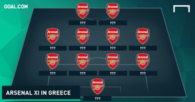 Arsenal XI vs Panathinaikos 1998 tease