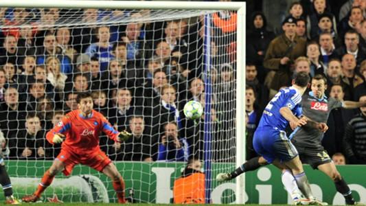 Ivanovic's big Chelsea goals | Napoli | 2011-12