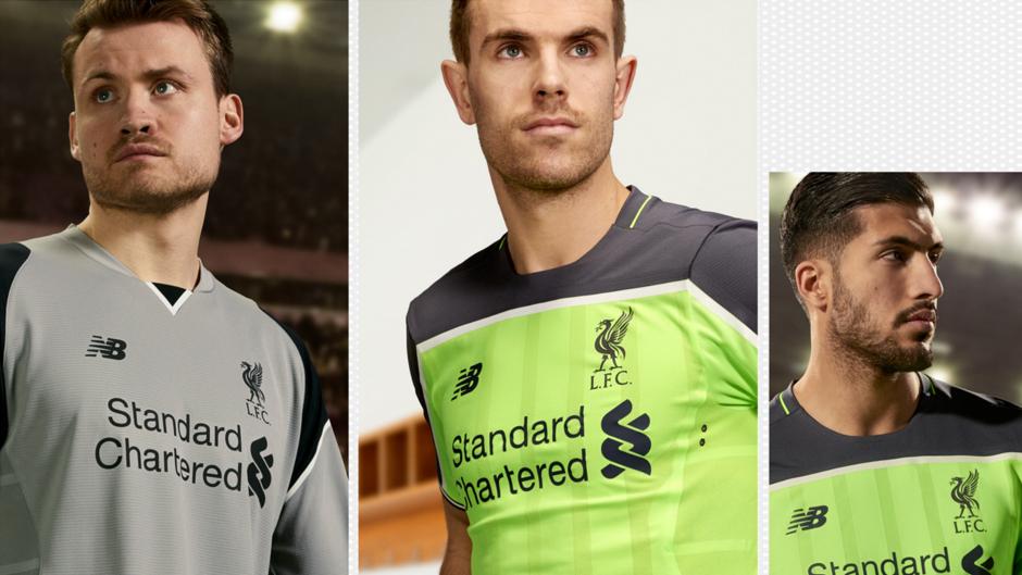 Liverpool third kit players 2
