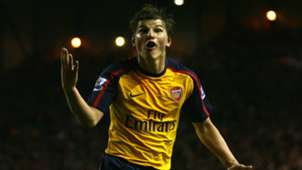 Andrey Arshavin Premier League Liverpool v Arsenal 210409