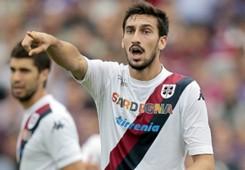 Davide Astori, difensore del Cagliari