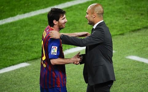 Lionel Messi & Pep Guardiola - Barcelona