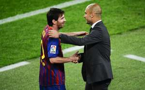Lionel Messi & Pep Guardiola - Barcelona
