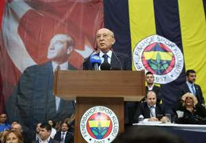 Vefa Kucuk Fenerbahce presidential election