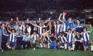 MAY 27: EUROPAPOKAL DER LANDESMEISTER 1987, Wien; FC BAYERN MUENCHEN - FC PORTO