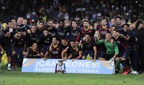 Barcelona v Atlético de Madrid, Supercopa de España
