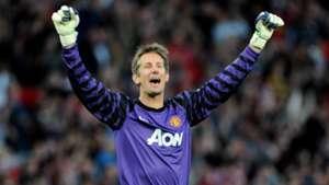 Edwin van der Sar Manchester United Champions League