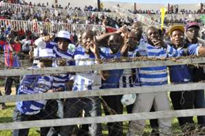 AFC Leopards' fans at Nyayo Stadium.